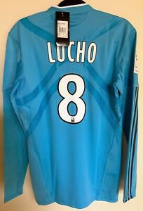 Maillot Vintage Marseille/OM Away 2010/2011 Lucho Pro Stk Camiseta Jersey Maglia