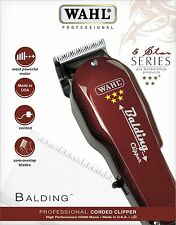 """WAHL BALDING 5 STAR CLIPPER PROFESSIONAL HAIR CLIPPER FOR HEAD FULL SHAVE""""NEW"""