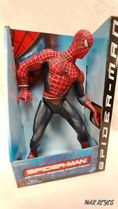 "MARVEL COMIC'S ""SPIDER-MAN"" 12 inch poseable action figure by Toy Biz"