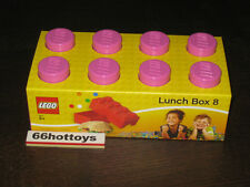 Lego Pink Lunch Box 8 NEW