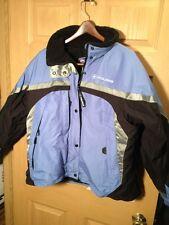 PURE POLARIS BLUE Snowmobiling Jacket XL UNISEX FLEECE LINED