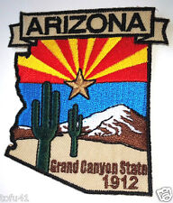*** ARIZONA STATE MAP *** Biker Patch PM6703 EE
