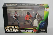 STAR WARS Cantina Showdown Dr. Evazan Panda Baba Obi-Wan Kenobi Hasbro 1997