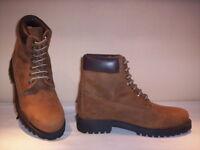 Scarpe alte polacchini scarponcini Old uomo shoes men casual pelle marroni 42 43