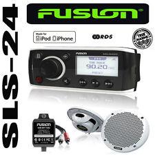 FUSION MARINE Radio MS-RA50KTS + 2 Lautsprecher + Bluetooth Adapter iPod iPhone