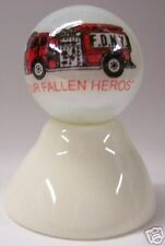 OUR FALLEN HERO'S 9/11 N/Y/C ON WHITE COLLECTOR MARBLES