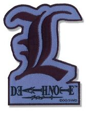 "Death Note: L Letter Patch 3"" x 2"" Licensed by GE Animation Anime Patches 7285"