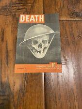 Rare Original Ww2 German American Life Death Propaganda Leaflet 1944 World War 2