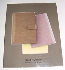 2000 Louis Vuitton Agenda Et Ecriture Diaries Pens & Writing Accessories Catalog