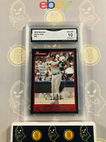 2006 Bowman Derek Jeter #65 Yankees - 10 GEM MINT GMA Graded Baseball Card