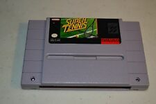 Super Tennis  (Super Nintendo, 1991) TESTED SNES Super NES