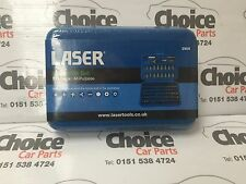 Laser 2905 Bit Set 100pc •Hex, Star, Flat, Phillips, PzDrive, Square