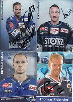 Eishockey - Schwenninger Wild Wings, 6 Autogrammkarten mit Originalunterschrift!