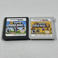 New Super Mario Bros. 1 & 2 (Nintendo 3DS & DS, 2012) Cartridges Only
