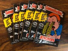 1988 Garbage Pail Kids 13th Series 13 Six 6 Unopened Wax Packs Sealed OS13