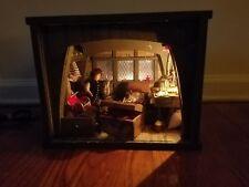 Vintage Miniature pirates and treasure Doll House