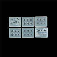 Earring pendent Silicone Mould DIY Resin Decorative Craft Jewelry Making Mold YL