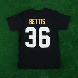 Jerome Bettis Pittsburgh Steelers Mitchell & Ness Name & Black Jersey Shirt Men