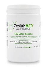 Zeolith MED® 600 Detox-Kapseln, CE-geprüftes Medizinprodukt