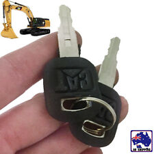 4pcs Old Ignition Keys Fits Cat Caterpillar Loader Dozer 5P8500 VKEY49922x4