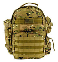 EastWest Elite Gear Hauler Backpack Tactical 3-Day Survival Pack Trek MULTICAM*