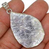 Flashy Lepidolite Mica 925 Sterling Silver Pendant Jewelry AP95106