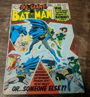 Batman 208 80 Page Giant 1969 Gil Kane Nick Cardy Posion Ivy Batgirl Catwoman DC