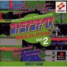 USED PS1 Konami Antiques MSX Collection Vol. 2 Japan Import