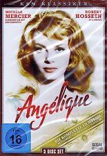 DVD-BOX NEU/OVP - Angelique - Die komplette Filmreihe - Michele Mercier