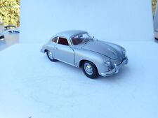 1/18 Porsche 356 B 1960 Ricko SILVER GREY N MINT NO BOX