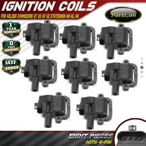 8x Ignition Coils for Holden HSV Commodore Adventra VY VZ WK WL LS1 V8 2003-2006
