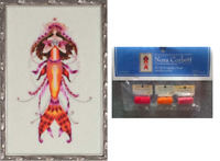 Nora Corbett Mirabilia Cross Stitch PATTERN & EMBELLISH Pk OPHELIA'S PEARL NC191