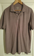 Men's Merona, Casual, Short Sleeve, Shirt, Purple, Iris, XL