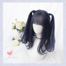 Wig Lolita Dark Dark Mixed Purple Gradient Harajuku Cosplay Long Curly Hair