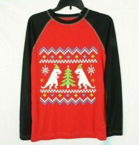 CIRCO Youth Sleep Shirt Xmas Graphic Red Size XL