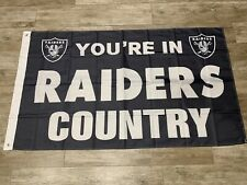New listing Las Vegas Oakland Raiders 3X5 Oakland Nation Flag Your In Raiders Country 2020