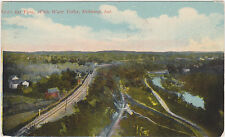Richmond,IN.Bird's Eye View White Water Valley,Wayne Co.Used,Flag Cancel,1913