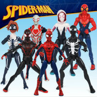 Marvel Spiderman Cartoon Movie Action Figure Peter Parker Man Gwen Legends Toys