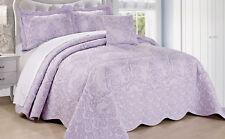 Serenta Damask 4 PCs Bedspread Quilt Set Bed in a Bag