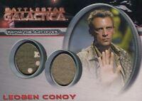 Battlestar Galactica Season One Leoben Conoy Double Costume Card DC1