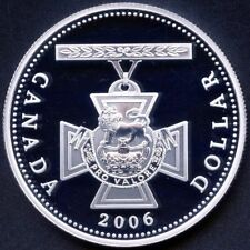 2006 Canada Proof Silver Dollar - Victoria Cross - Fine Silver .9999