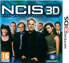 NCIS 3D Based on the TV Series  Nintendo 3DS 16+ Adventure Game