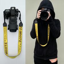 OFF White Print Camera Single Shoulder Belt Sling SLR DSLR Cameras