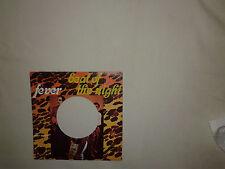 "Fever  – Beat Of The Night  - Copertina Forata Per Disco Vinile 45 Giri 7"""