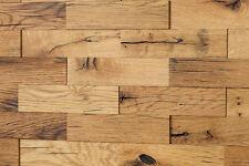 3D Holz Wandverkleidung Eiche Altholz Holzwand Holzpaneele Wandgestaltung Upcycl