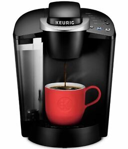 Keurig K-Classic Single Serve K-Cup Pod Coffee Maker, Black