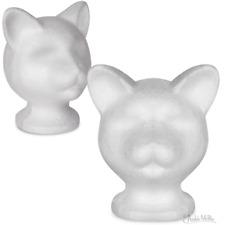 Styrofoam Cat Mannequin Head!