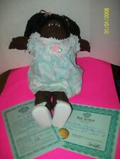 SOFT SCULPTURE CABBAGE PATCH KID GIRL1984 a/a hard to find fudge skin w/papers