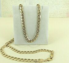 9ct Yellow Gold Curb Link Chain , 24'' Inch, 6grams