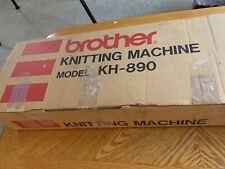 BROTHER KH-890 PUNCH CARD KNITTING MACHINE SERVICED